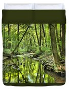 Reflections Of Tranquility Duvet Cover