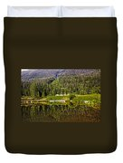 Reflections Of Vail Duvet Cover