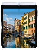 Reflections Of Venice II Duvet Cover