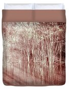 Reflections On Lake Trafford Duvet Cover
