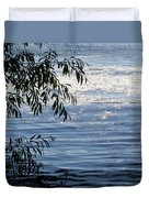 Reflections On The Lake Duvet Cover