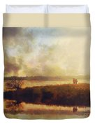 Reflections Duvet Cover by Pixel Chimp