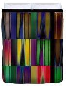 Reflective Blurs Duvet Cover