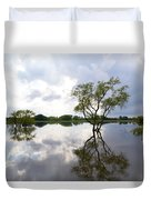 Reflective Flood Waters Duvet Cover
