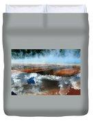 Reflective Springs Duvet Cover