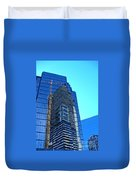 Reflective Towers Duvet Cover