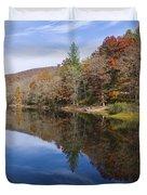 Reflection On Lake Winfield Scott 2 Duvet Cover