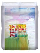 Refuge On The Cliff Duvet Cover