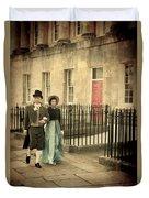 Regency Couple Duvet Cover