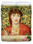 Regina Cordium Alice Wilding, 1866 Duvet Cover