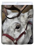 Reindeer Portrait Duvet Cover