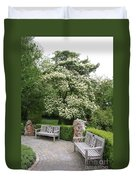 Relax In The Park Duvet Cover