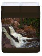 Relaxing Autumn Falls Duvet Cover