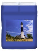 Relaxing By Big Sable Light Duvet Cover