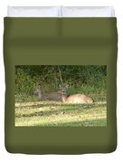 Relaxing In The Sun And Shade Duvet Cover