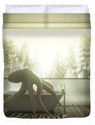 Relaxing Octopus...  Duvet Cover