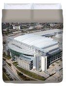 Reliant Stadium In Houston Duvet Cover