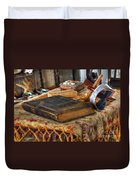 Relics Of A Lighthouse Keeper Duvet Cover