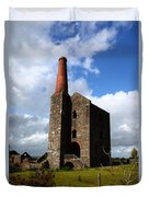 Remains Of Phoenix United Mine Cornwall Duvet Cover