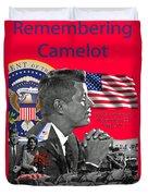Remembering Camelot Duvet Cover