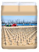 Remembering Heros By Diana Sainz Duvet Cover