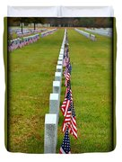 Remembering Veteran's Day Duvet Cover