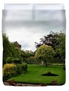 Remembrance Park - In Bakewell Town Peak District - England Duvet Cover