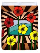 Remembrance Poppy Duvet Cover