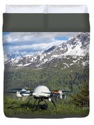 Remote Controlled Helicopter Duvet Cover