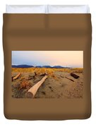 Remote New Zealand Beach Duvet Cover