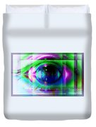 Remote Viewing Duvet Cover