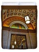 Renaissance Hotel Cleveland Duvet Cover
