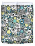 Repeat Print - Floral Burst Duvet Cover