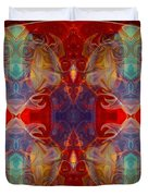 Repeating Realities Abstract Pattern Artwork By Omaste Witkowski Duvet Cover