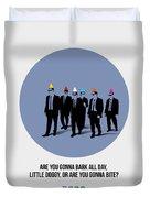 Reservoir Dogs Poster  Duvet Cover