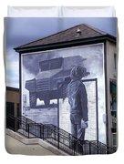 Derry Mural Resistance Duvet Cover