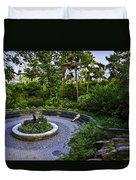 Respite - Carl Schurz Park 2 - Manhattan - New York Duvet Cover