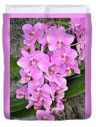 Resplendent Orchid Duvet Cover