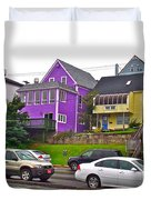 Restaurants In Lunenburg-ns Duvet Cover