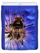 Resting Bee Duvet Cover