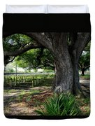 Resting In The Shade Duvet Cover by Beth Vincent
