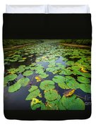 Resting Lilly Pads Duvet Cover