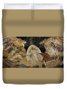 Resurrection Of Adam And Eve Panorama Duvet Cover
