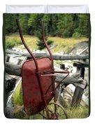 Retired Wheelbarrow Duvet Cover