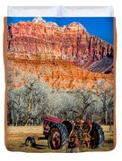 Retired With A View Duvet Cover
