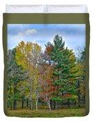 Retreating Pines Duvet Cover