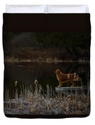 Retriever Focus Duvet Cover