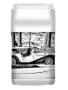 Retro Cabriolet Duvet Cover