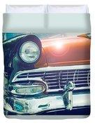 Retro Car Duvet Cover