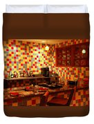 Retro Diner Duvet Cover